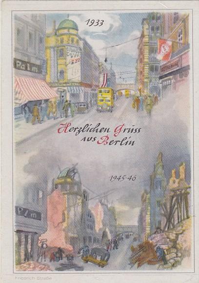Alte ansichtskarten postkarten von antik falkensee for Stempel berlin mitte
