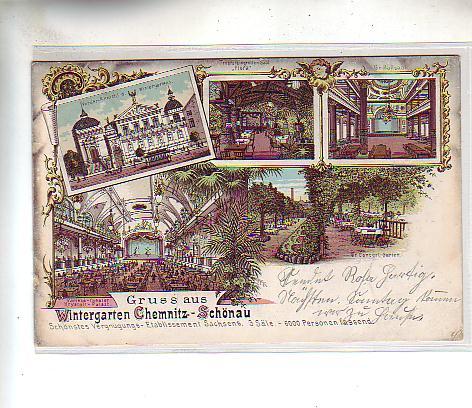 Alte ansichtskarten postkarten von antik falkensee - Wintergarten chemnitz ...