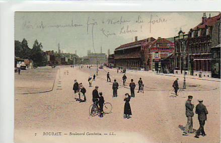 Alte ansichtskarten postkarten von antik falkensee - Boulevard gambetta roubaix ...
