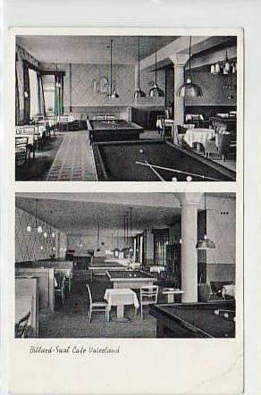 alte ansichtskarten postkarten von antik falkensee n rnberg billard cafe vaterland 1961. Black Bedroom Furniture Sets. Home Design Ideas