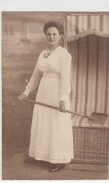 58144d5766a Alte Ansichtskarten Postkarten von Antik-Falkensee Frauen Mode ...