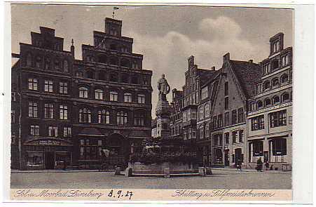 alte ansichtskarten postkarten von antik falkensee l neburg markt ca 1927. Black Bedroom Furniture Sets. Home Design Ideas