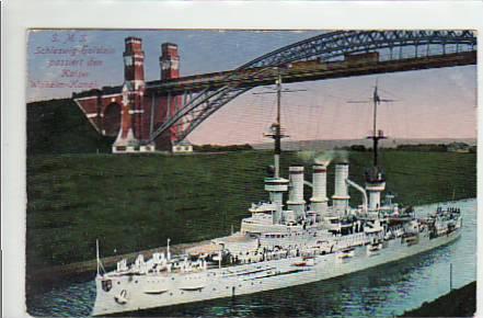 alte ansichtskarten postkarten von antik falkensee marine kriegsschiff sms schleswig holstein. Black Bedroom Furniture Sets. Home Design Ideas