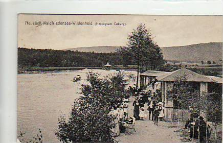 alte ansichtskarten postkarten von antik falkensee neustadt waldfriedensee wildenheid bei coburg. Black Bedroom Furniture Sets. Home Design Ideas
