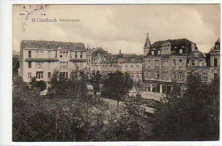 Bismarckstraße Mönchengladbach alte ansichtskarten postkarten antik falkensee mönchengladbach