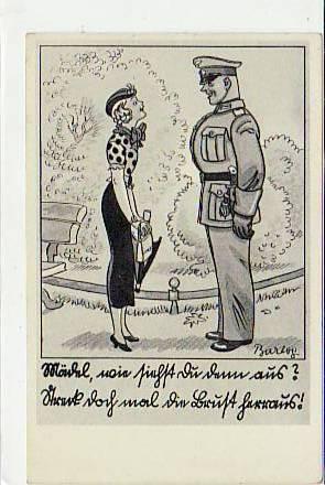 militär sprüche Alte Ansichtskarten Postkarten von Antik Falkensee Militär 2.WK  militär sprüche