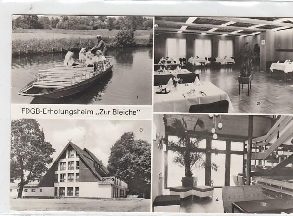 alte ansichtskarten postkarten von antik falkensee burg im spreewald fdgb heim zur bleiche 1982. Black Bedroom Furniture Sets. Home Design Ideas
