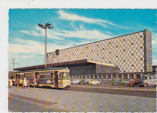 alte ansichtskarten postkarten von antik falkensee braunschweig bahnhof strassenbahn ca 1970. Black Bedroom Furniture Sets. Home Design Ideas